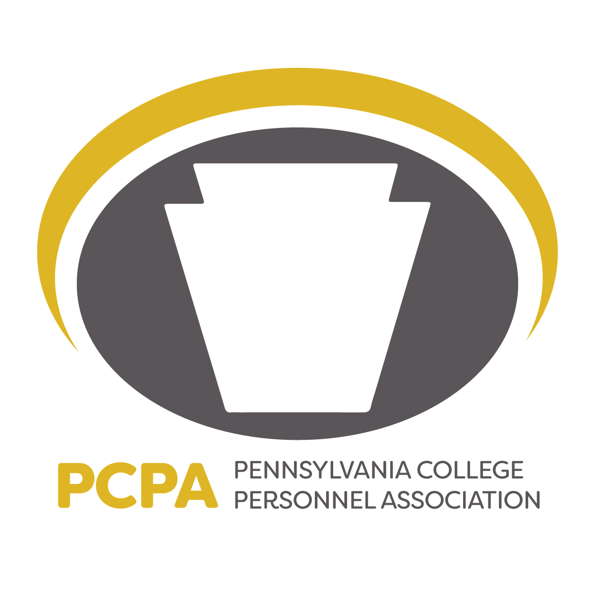PCPA logo featuring a symbol from the Pennsylvania flag