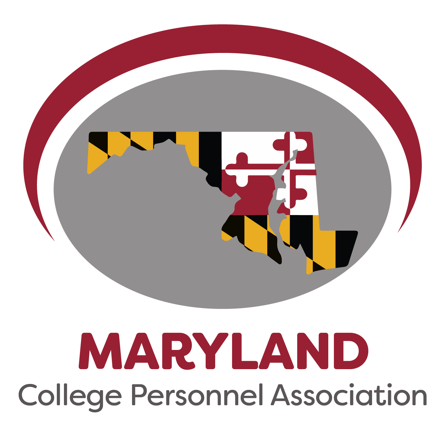 Maryland CPA logo featuring the MD flag inside of the state outline