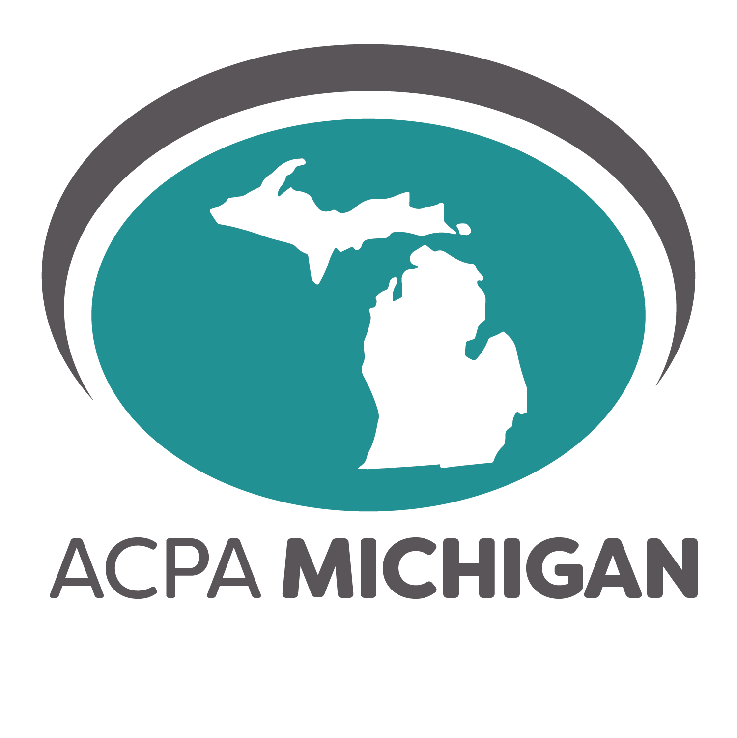 ACPA Michigan logo featuring the state outline