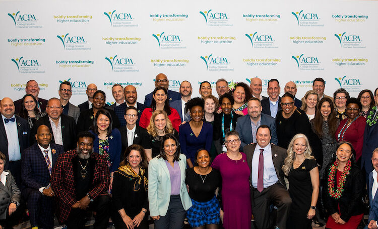 large group of ACPA members at the 2020 Diamond Honoree Ceremony