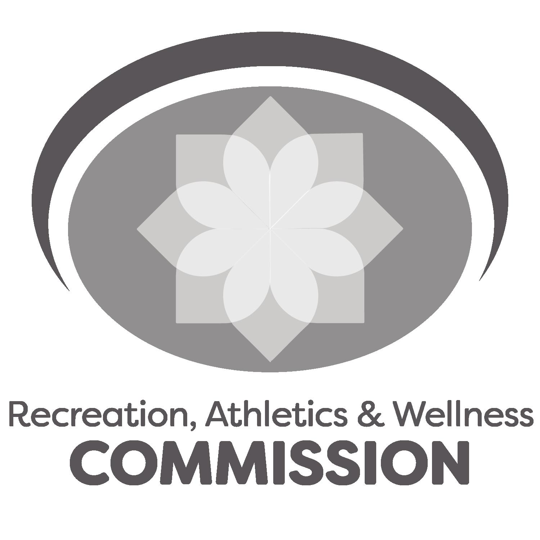 Recreation, Athletics & Wellness Commission logo