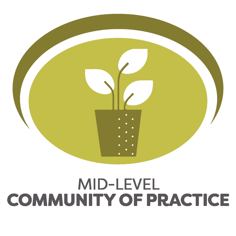 Mid-Level Community of Practice logo