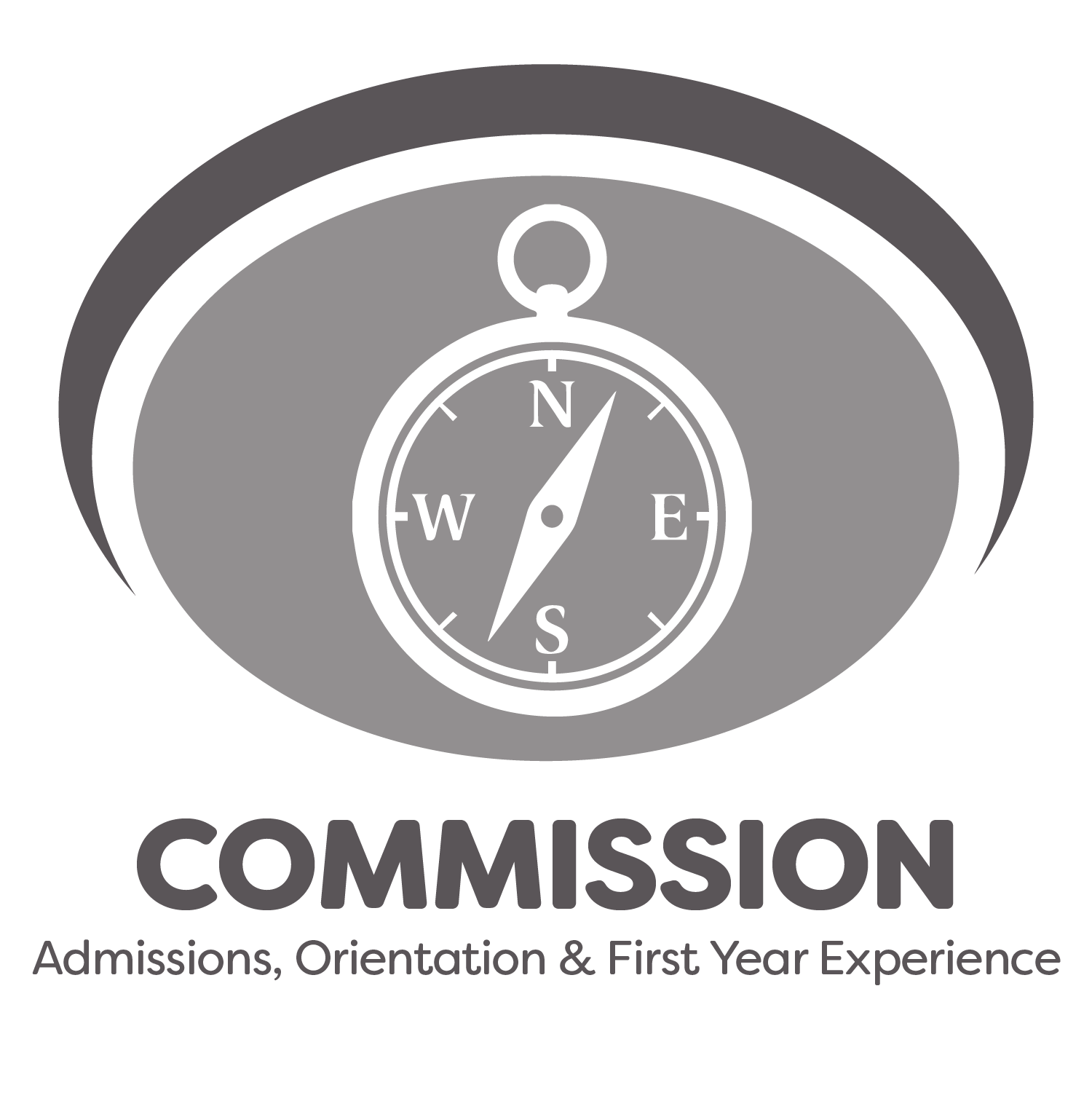 Commission for Admissions, Orientation and First Year Experience logo