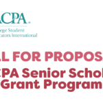 ACPA logo and text that reads Call for proposals ACPA Senior Scholar Grant Program