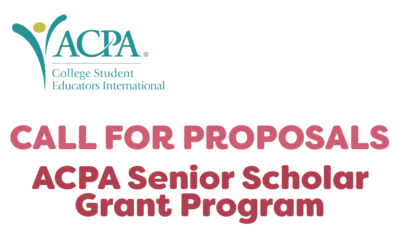 2021 Senior Scholars Grants