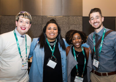 four ACPA members at Convention smiling for a photo