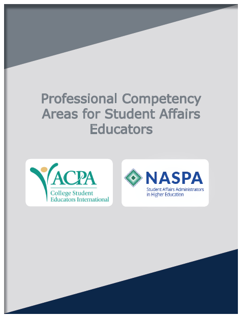Professional Competency Areas for Student Affairs Administrators book cover