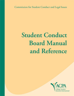 Student Conduct Board Manual and Reference
