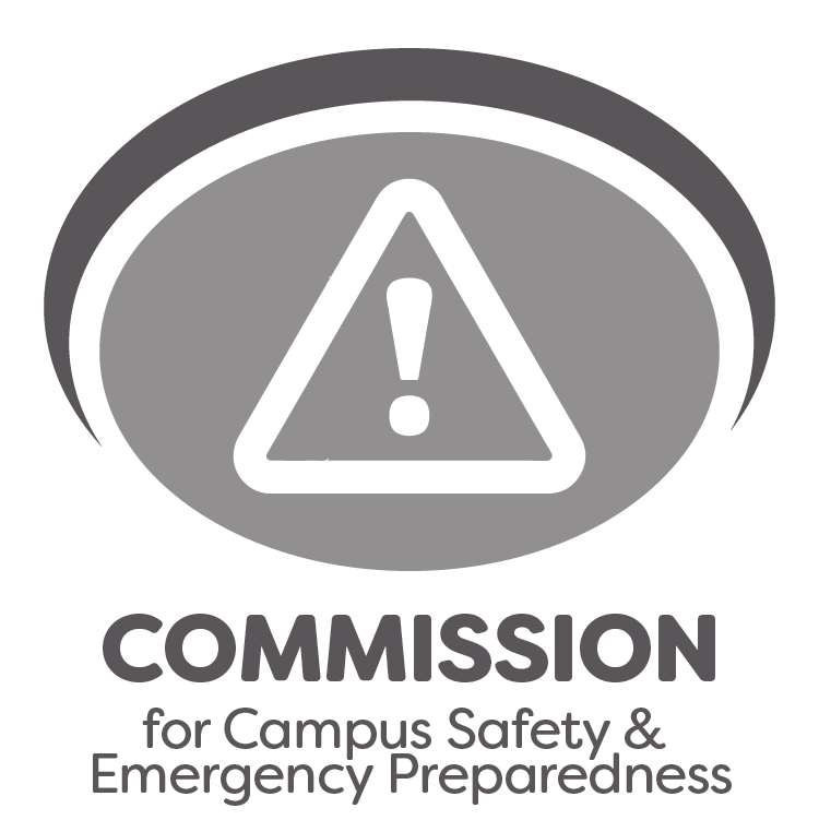commission for campus safety & emergency preparedness logo