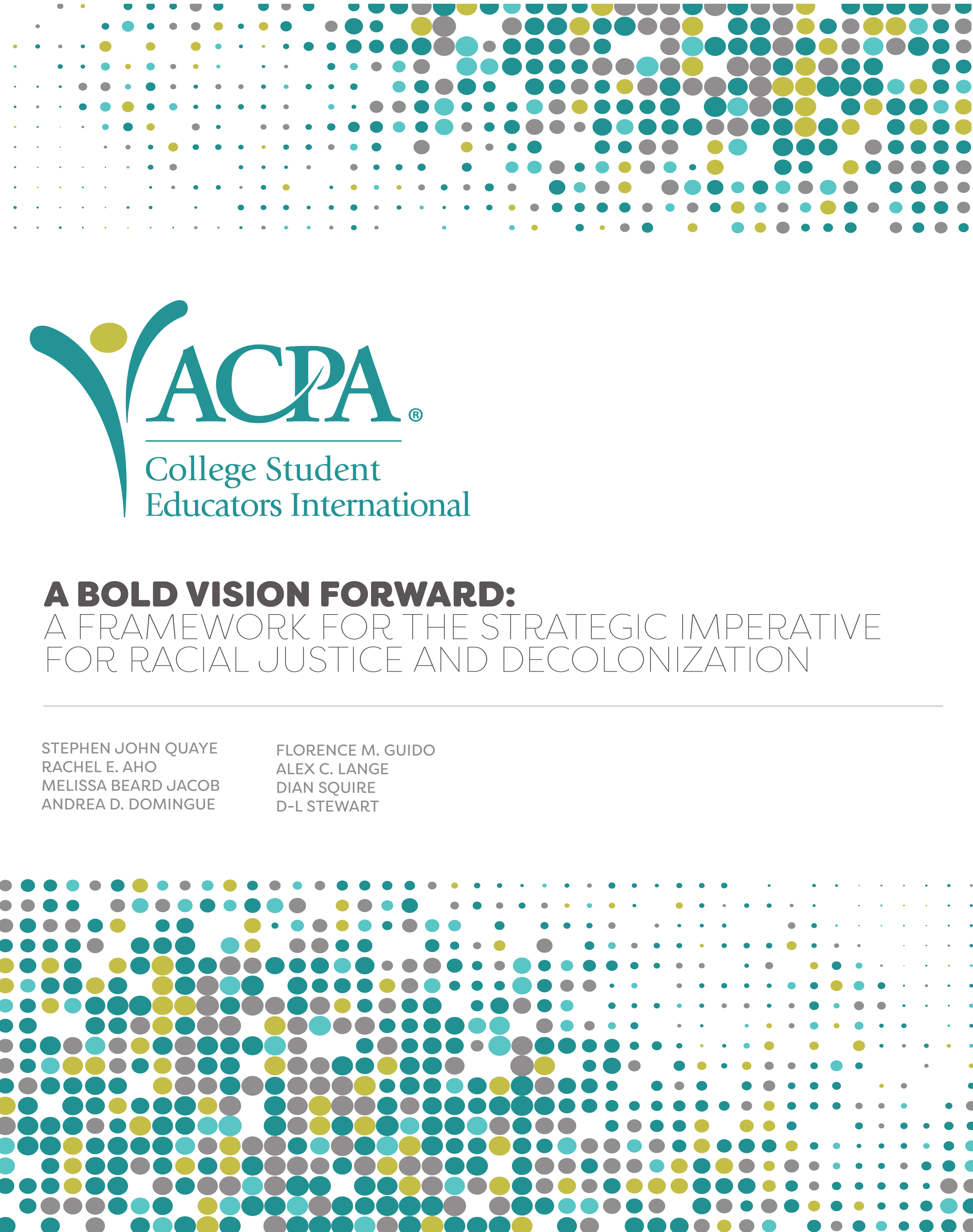 A Bold Vision forward book cover