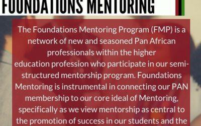PAN Foundations Mentoring
