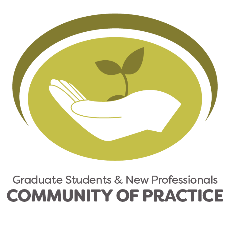 graduate students and new professionals community of practice logo
