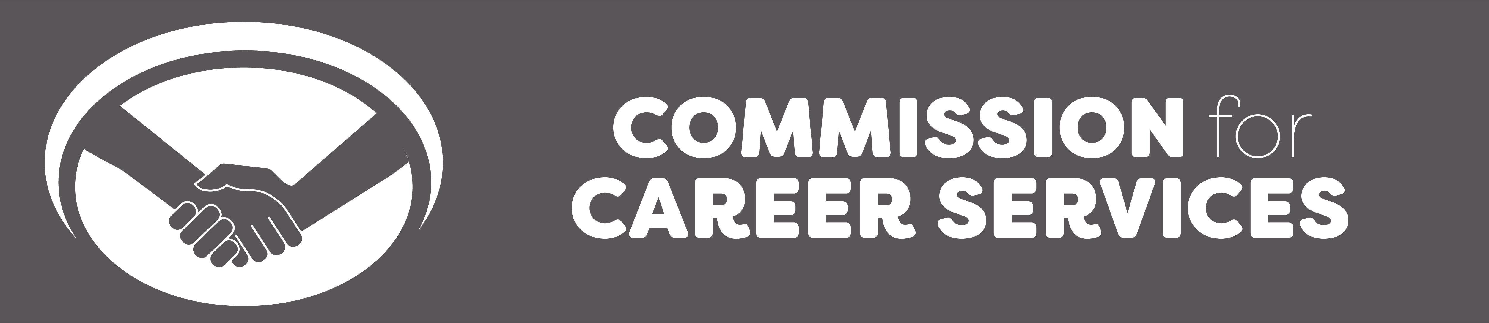 commission for career services logo