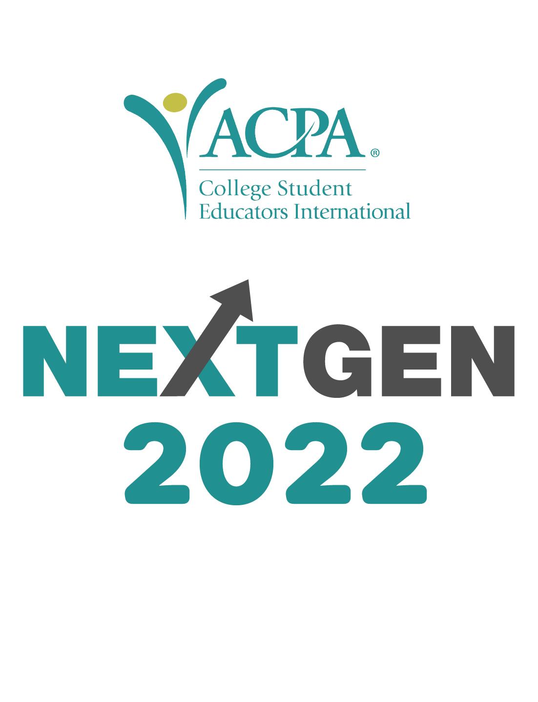 ACPA logo and text: NextGen 2022