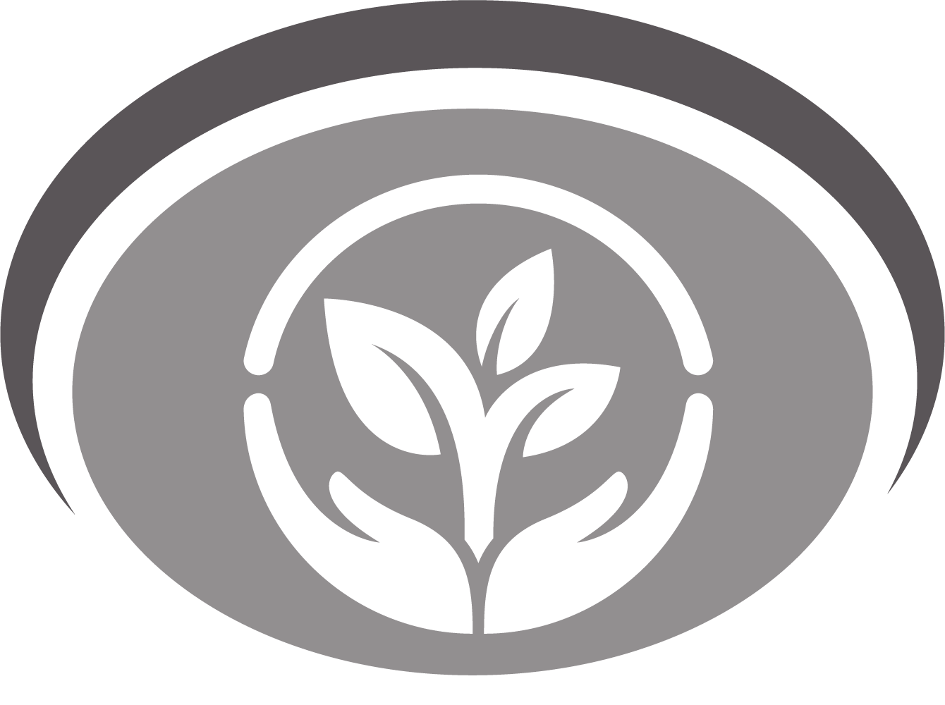 ccaps logo of hands holding a lotus flower